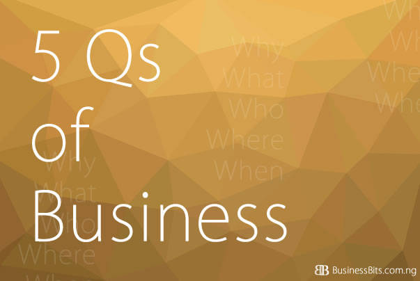 5qs of business